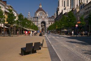 Antwerp train station, σιδηροδρομικός σταθμός Αμβέρσας
